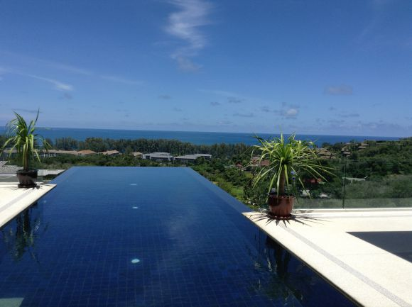 Luxury Sea View Pool Villas located at Nai Thon / Price starts from 17.000.000 THB