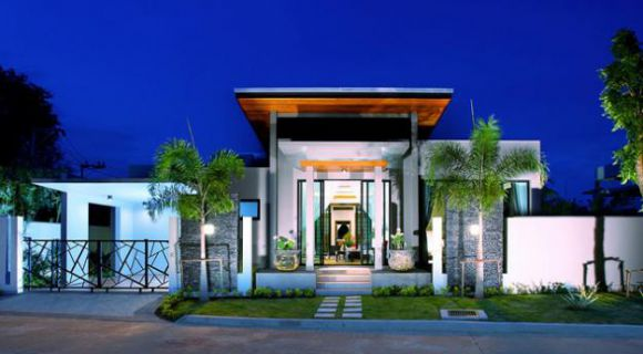 Modern Style Zen Villas located at Nai Harn /  Price starts from 12.900.000 THB.